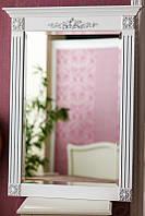 Код М-003.2. Зеркало в деревянной раме с резьбой , фото 1