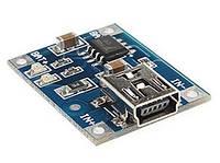 Mini USB контроллер заряда батарей tp4056 #100241