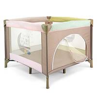Детский манеж Milly Mally Crib Fun Pink Safari