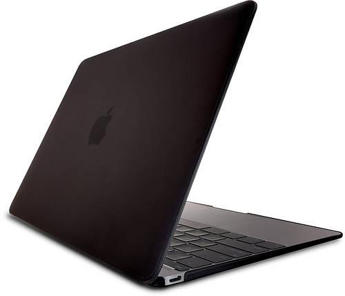"""Ультратонкая обложка-чехол для ноутбука 12"""" OZAKI O!macworm TightSuit MacBook Retina (Black) OA430BK"""