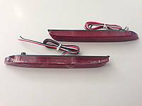 Катафоты в задний бампер диодные Led для Toyota Camry (50) 2011-14