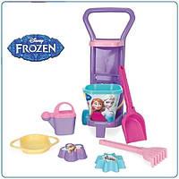 Игровой набор для песка с тележкой Frozen