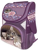 """Ранец ортопедический школьный  каркасный  """"Kitten"""",CLASS 9606"""