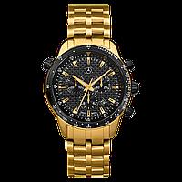 Мужские наручные часы Mercedes-Benz Men's MSP Chronograph Watch, Gold Edition