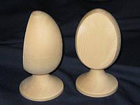 Яйцо со срезом на ножке деревянное заготовка 120х85х60 мм