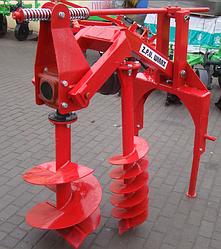 Бур навесной к трактору Wirax-3 шнека Польша(50 см.,25 см. и 18 см.)