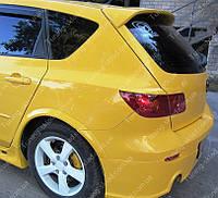 Спойлер Мазда 3 Хэтчбек (спойлер на заднюю дверь Mazda 3 HB)