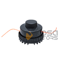 Катушка электро средний носик черная d=6 мм