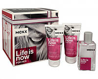 НАБОР Mexx Life Is Now for Her (edt 30ml+2xb/lot 50 ml