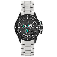 Мужские наручные часы Mercedes-Benz Men's Motorsport Chronograph Watch Petronas Green