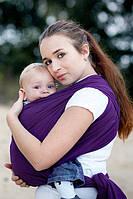 Слинг-шарф Baby Sling, Broken Twill Weave - Lilac, фото 1