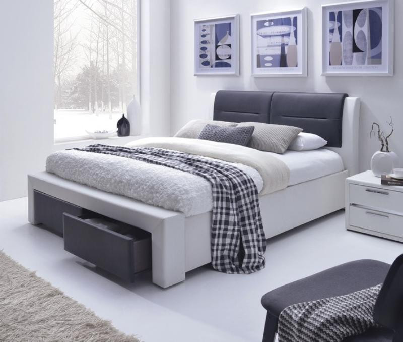 Двуспальная кровать Halmar Cassandra S 160