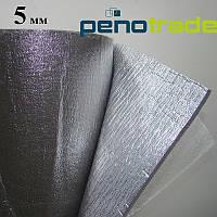 Самоклеящийся-фольгированный Изолон 5 мм