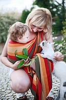 Слинг-шарф Baby Sling, Broken Twill Weave - Autumn, фото 1