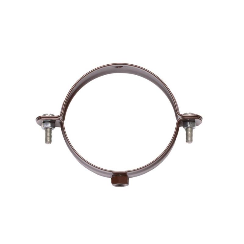 Держатель трубы стальной и шпилька 100 - 220 мм. Водосточная система Izabella 128/100
