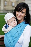 Слинг-шарф Baby Sling, Broken Twill Weave - Muscari, фото 1