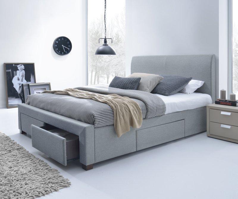 Двуспальная кровать Halmar MODENA 140