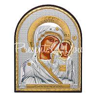 Казанская икона Божией Матери, 15,5х12 см.
