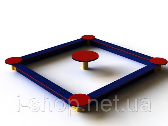 Песочница со столиком 2,0 / 2,5 м, фото 2