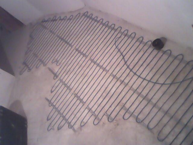 Установка кабеля в стяжку