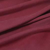 Ткань для штор нубук (велюр) бордо