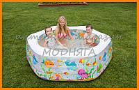 Детский надувной бассейн 56493 Океанский риф