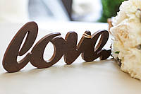 """Декоративное слово """"Love"""""""