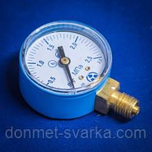 Манометр МП-50 2,5 МПа О2 (кислород)