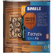 Лазурь  Smile SWL-15 Олива 2,3л