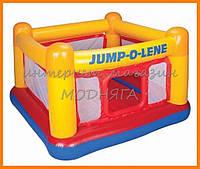 Надувной детский батут 48260 Play House, 174*174*112см
