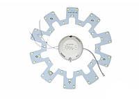 Комплект переоборудования круглого светильника FT-RS-12, 18W, 220V, IP20, 1850Lm, 6000K белый