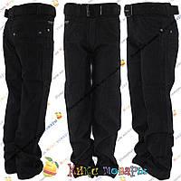 Чёрные классические джинсы для мальчика Размеры: 10 и 12 лет (4207)