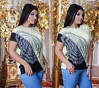 Туника-футболка женская