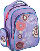 Рюкзак школьный детский KITE Flower Power 511 2 отделение, 3 кармана (1-4 классы)