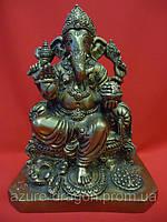 Бог Ганеша статуэтка бронзовая