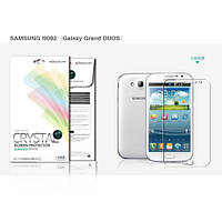 Защитная пленка Nillkin для Samsung Galaxy Grand Duos I9082, ультрапрозрачная не оставляющая отпечат