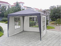 Павильон шатер садовый 3х3 м с тремя стенками Everyday