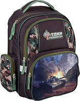Рюкзак школьный Kite Tank Domination 514 (1-4 классы)