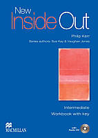 New Inside Out Intermediate Workbook with Key Pack (тетрадь с ответами)