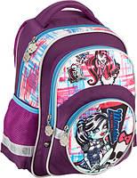 Рюкзак школьный детский KITE Monster High 525 1 отделение, 3 кармана