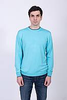 Цветной мужской джемпер с круглой горловиной, фото 1