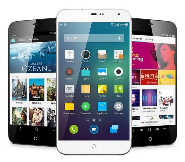 Сенсорные телефоны Android