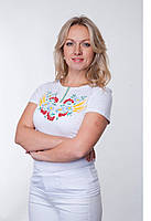 Вышитая футболка Мак-Колос