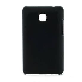 Чехол пластиковый матовый на LG Optimus L3 II E430 E425, черный
