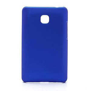 Чехол пластиковый матовый на LG Optimus L3 II E430 E425, синий