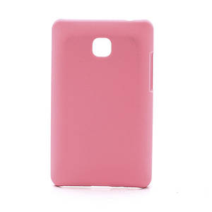 Чехол пластиковый матовый на LG Optimus L3 II E430 E425, розовый