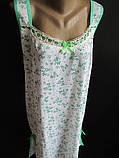 Женские ночные сорочки с мелкими цветами., фото 2