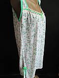 Женские ночные сорочки с мелкими цветами., фото 3