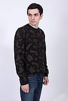 Оригинальный мужской джемпер в модных тонах, фото 1