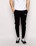 Спортивные штаны Outfits - Pants 1.0 Black (мужские трикотажные \ чоловічі спортивні штани трикотажні)